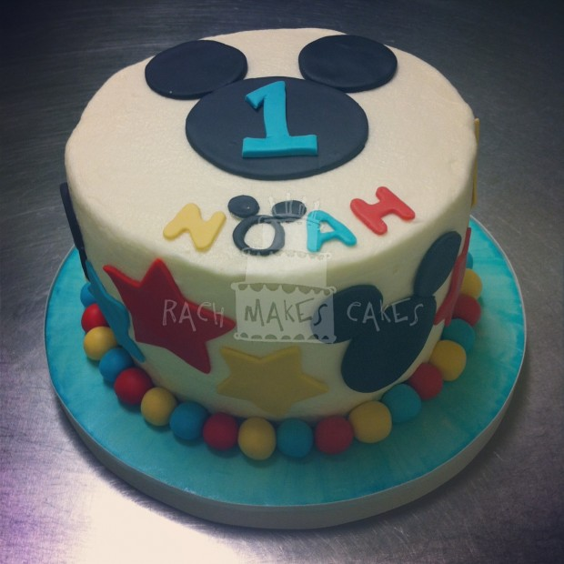 Mickey Mouse Smash Cakes Buttercream: Mickey Mouse Clubhouse Party