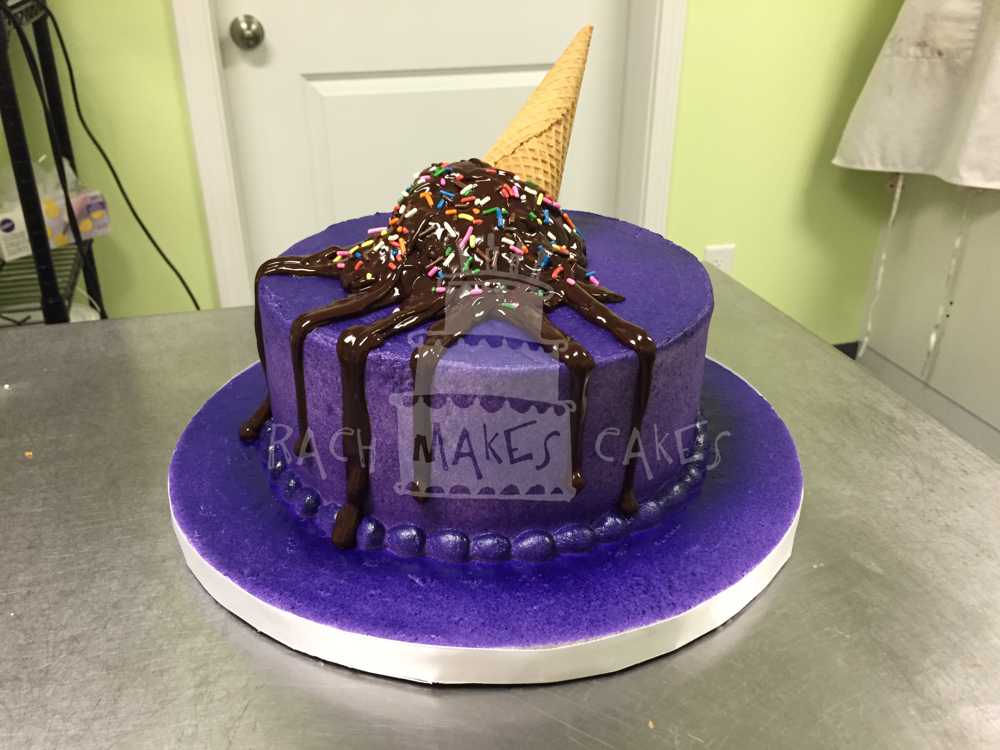 Custom Ice Cream Cakes Atlanta