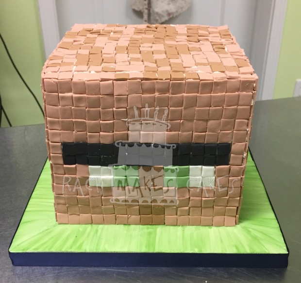 Pin Minecraft Villagers Colouring Pages Cake On Pinterest
