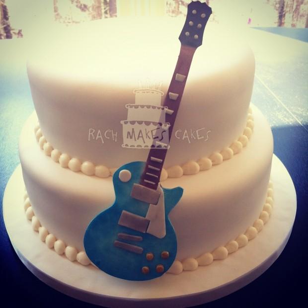Guitar Cake Rach Makes Cakes