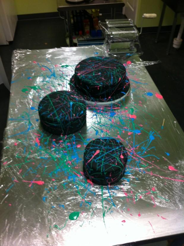 Splatter Paint Cake Rach Makes Cakes