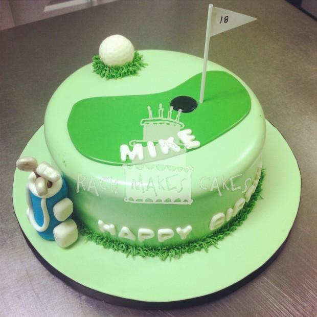 Mike S Golf Cake Rach Makes Cakes