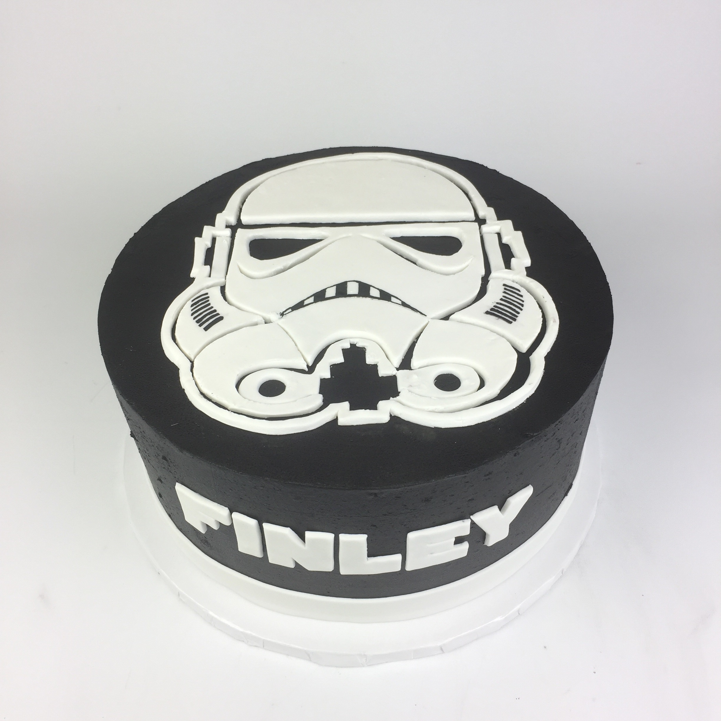 Sensational Stormtrooper Cake Rach Makes Cakes Personalised Birthday Cards Paralily Jamesorg