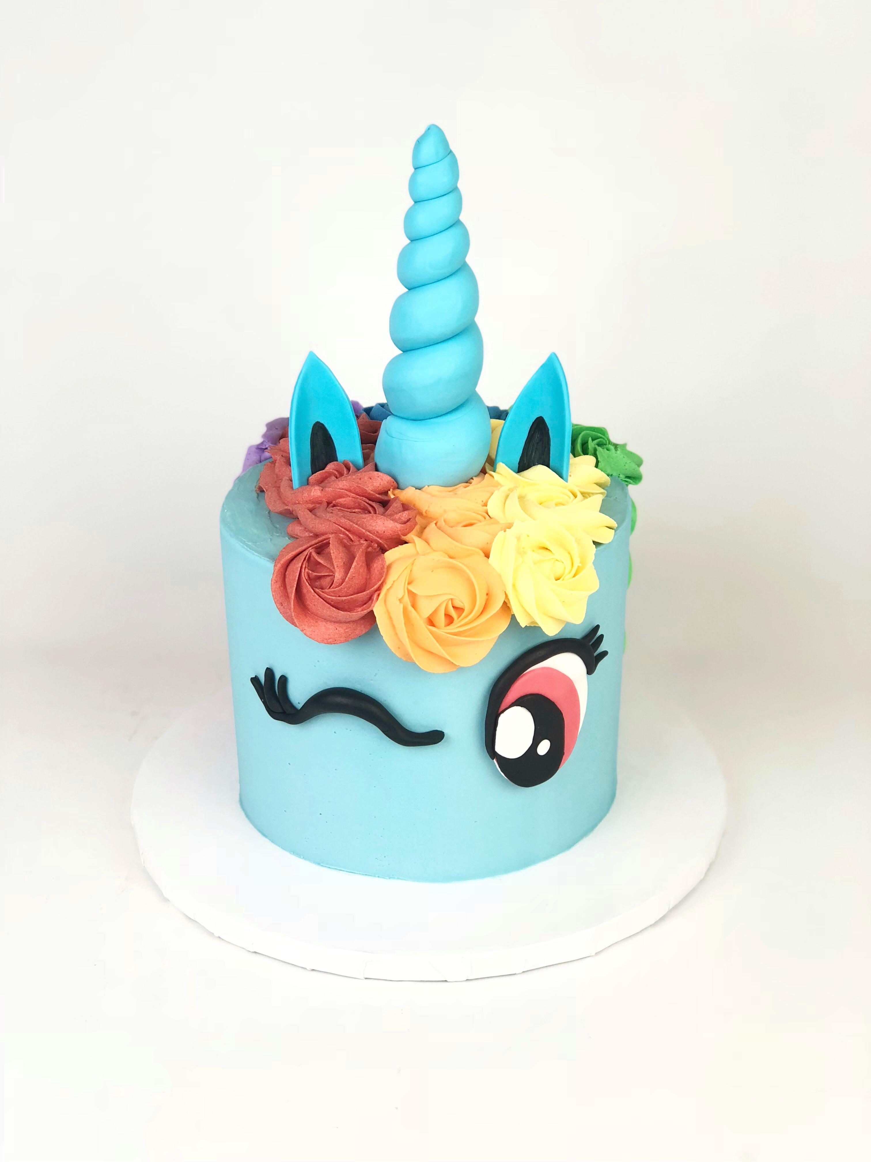 Sensational Rainbow Dash Unicorn Cake Rach Makes Cakes Funny Birthday Cards Online Eattedamsfinfo